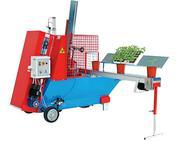 Машины для наполнения горшка и последующей высадки растений URBINATI